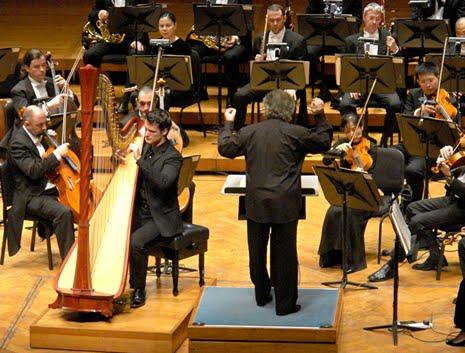 Harp Concerto Premiere Devos Hall