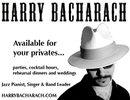 Show Harry Bacharach 2011