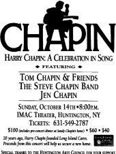 2011 Harry Chapin