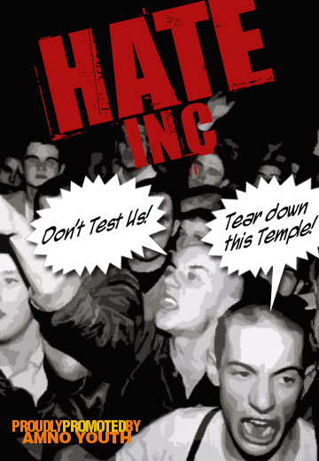 Hate Incorporated Concert