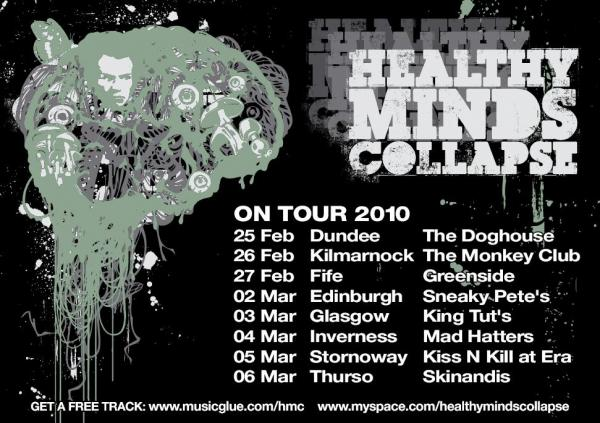 Tour 2011 Dates Healthy Minds Collapse