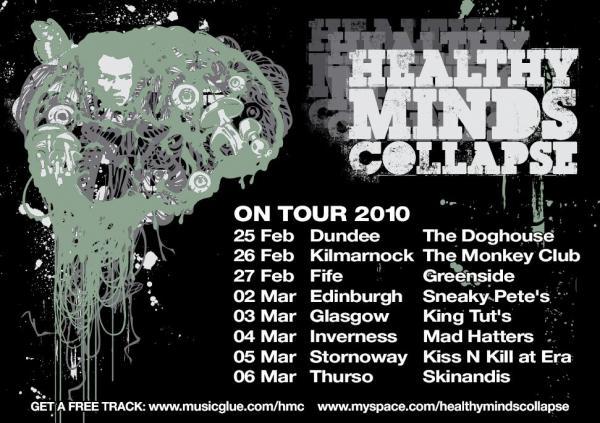 Tour 2011 Dates Healthy Minds Collapse