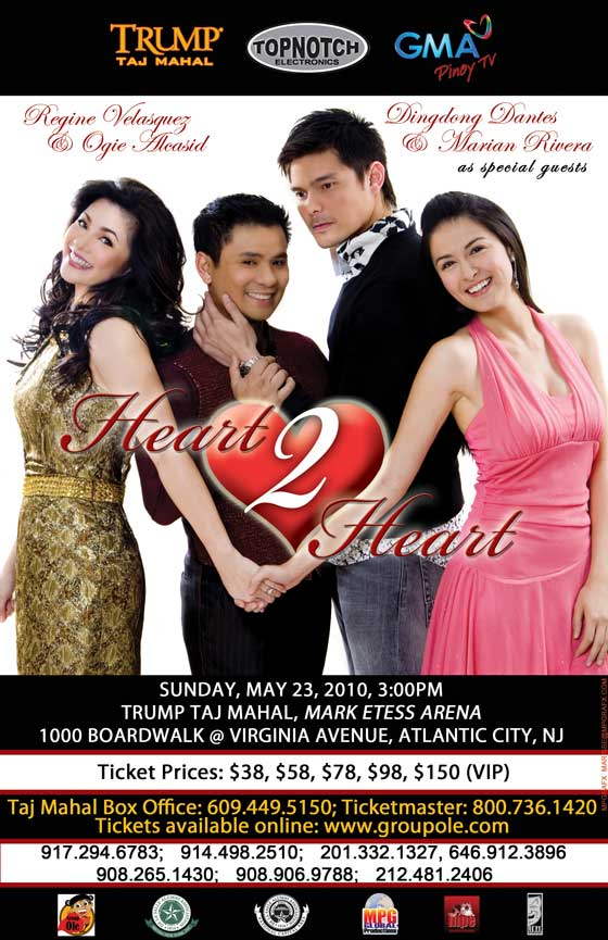 Heart To Heart Tickets Show