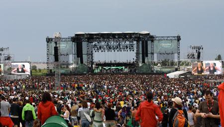 Dates Heineken Jammin Festival 2011 Tour