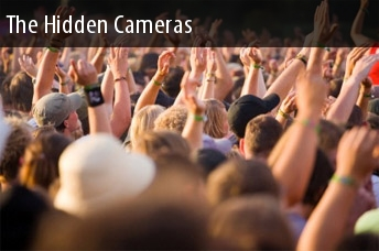 Hidden Cameras Audio Tickets