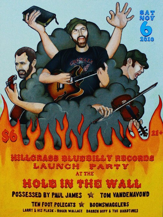 Hillgrass Bluebilly Tour Dates 2011