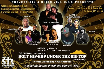 Holy Hip Hop Music Awards Tickets Atlanta