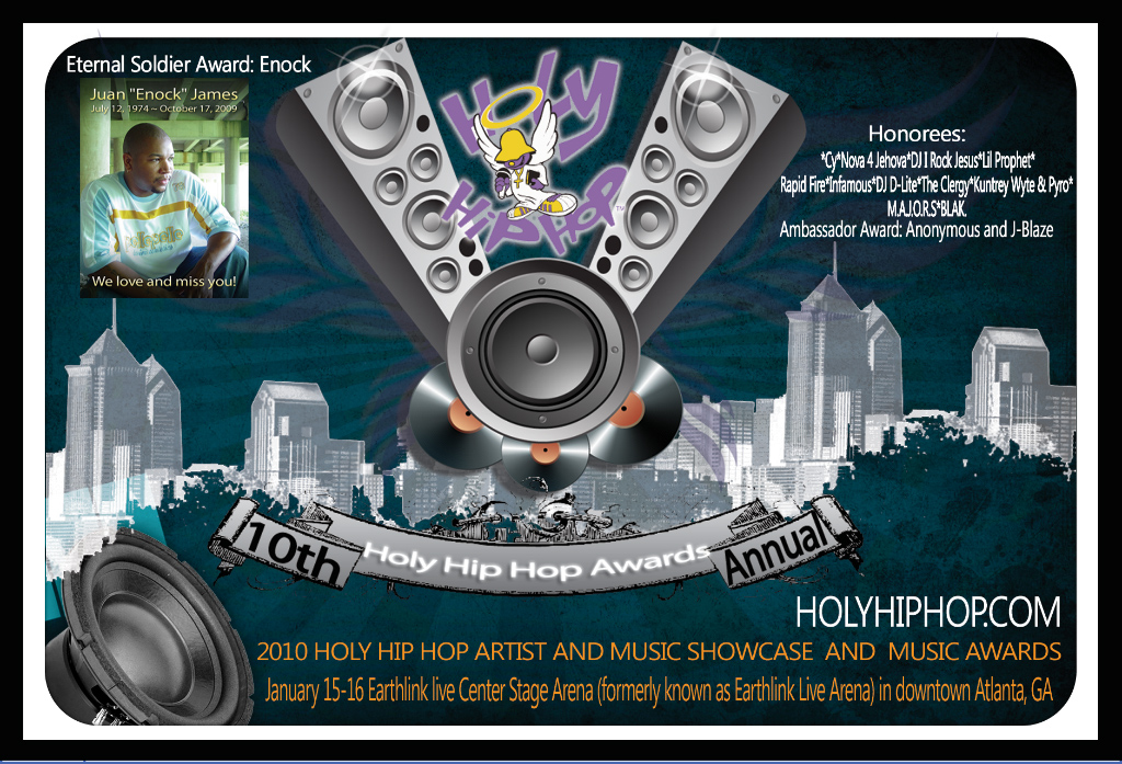 Tickets Show Holy Hip Hop Music Awards