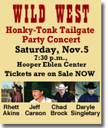 2011 Honky Tonk Tailgate Party
