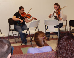 Honors String Quartet Show 2011