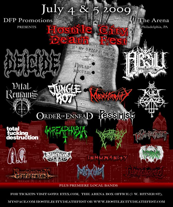 2011 Show Hostile City Death Fest