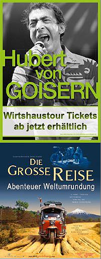 Dates 2011 Hubert Von Goisern Tour