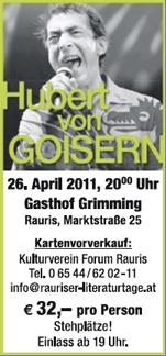 Hubert Von Goisern Tickets Vottinger Weiher