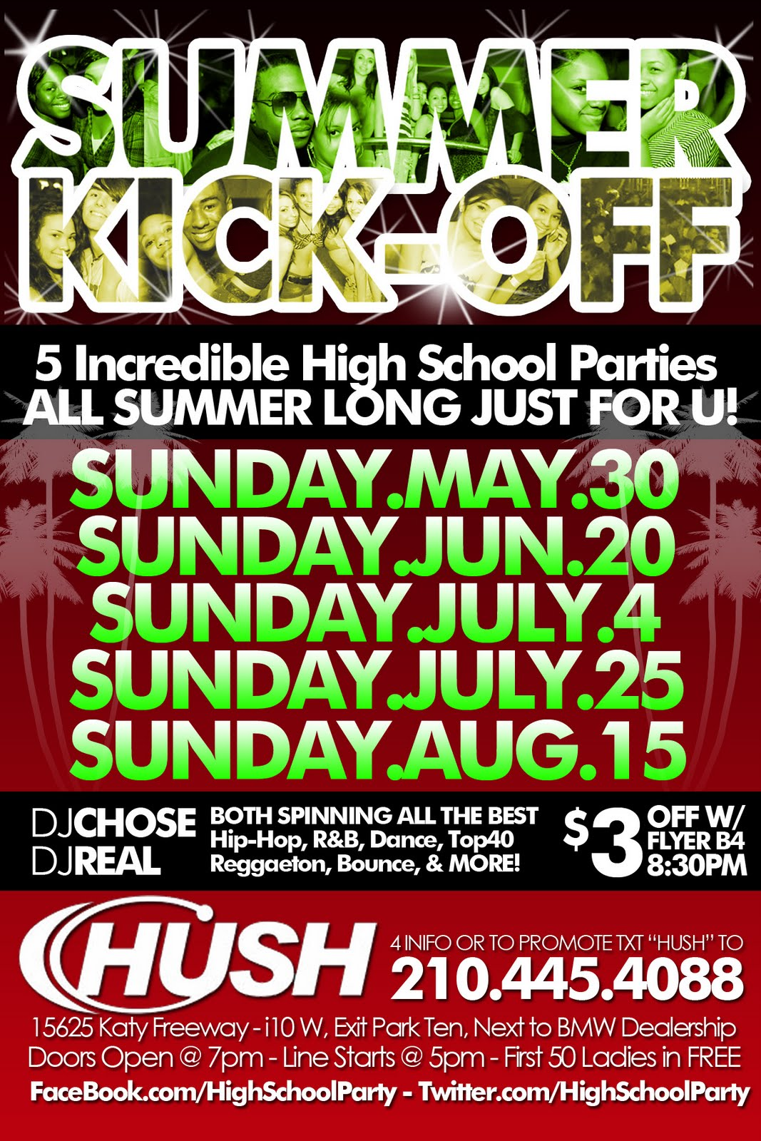 Hush Pride Party 2011