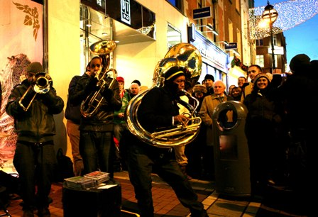 Hypnotic Brass Ensemble 2011 Dates