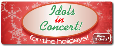 Idols In Concert For The Holidays Tickets Pittsburgh