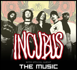 Show Incubus Tickets