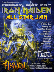 Iron Maiden Tribute Band Dates 2011 Tour