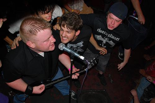 Concert Jacknife Powerbombs