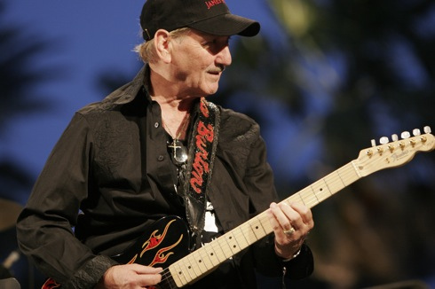 James Burton 2011 Dates