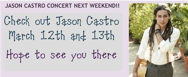 Jason Castro Troubadour Tickets
