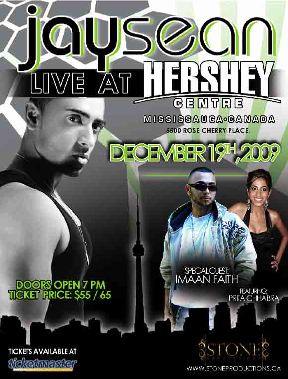 Jay Sean Sovereign Performing Arts Center Tickets