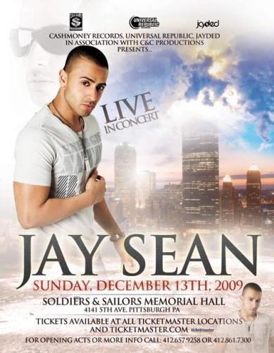 Jay Sean Tickets Sovereign Performing Arts Center