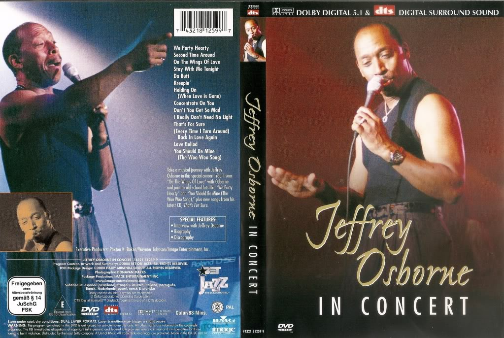 Jeffrey Osborne New York