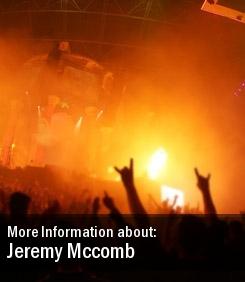 2011 Dates Jeremy Mccomb