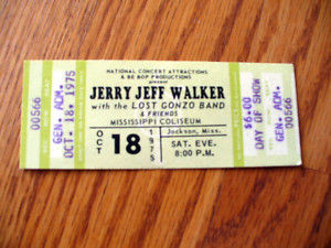 Jerry Jeff Walker Dates 2011