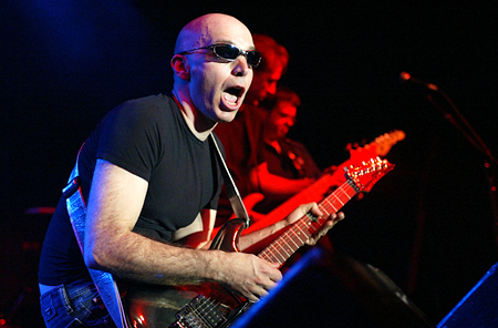Dates Joe Satriani 2011