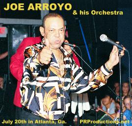 2011 Joey Arroyo Band Dates