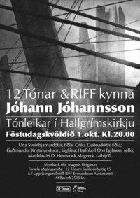Johann Johannsson Show 2011
