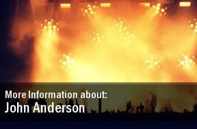 John Anderson Tickets Bojangles Coliseum