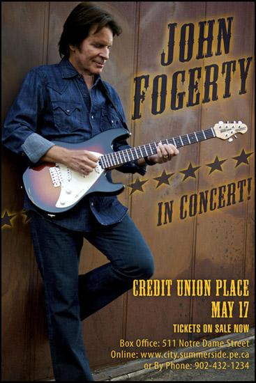 John Fogerty Mts Centre Tickets