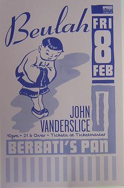 John Vanderslice Tour Dates 2011