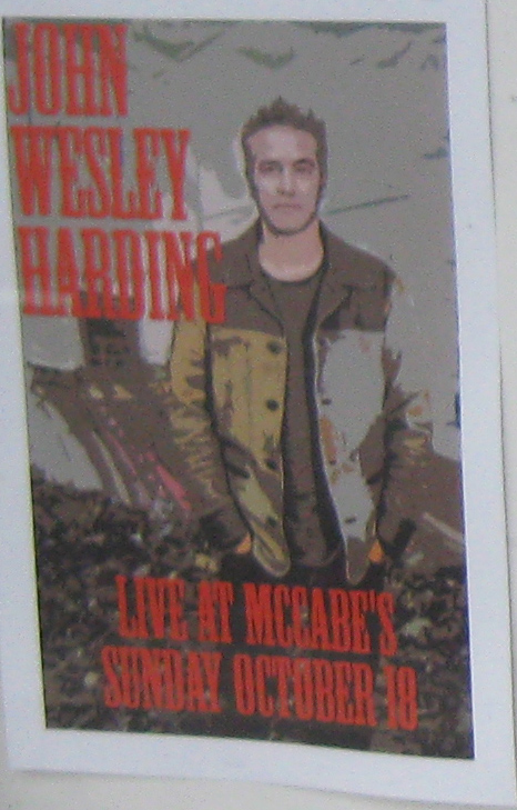 2011 Show John Wesley Harding