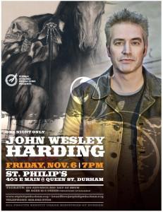 John Wesley Harding Seattle
