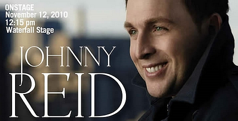 Johnny Reid Cn Centre