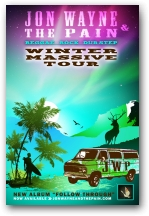 Dates 2011 Jon Wayne And The Pain Tour
