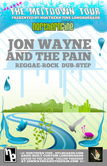 Tour Jon Wayne And The Pain Dates 2011
