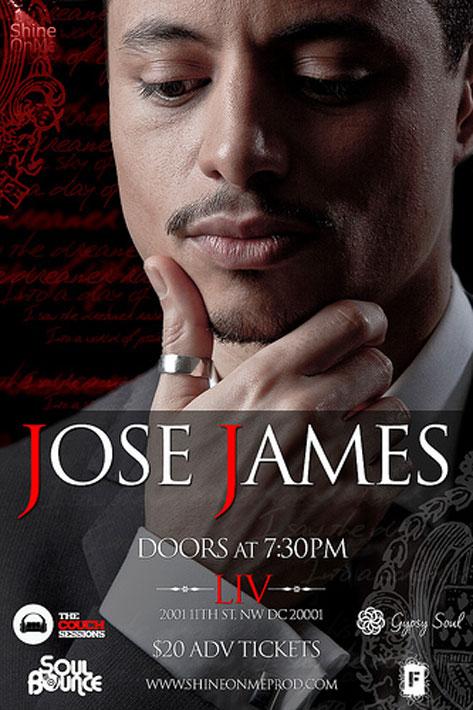 Jose James Concert