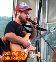 Josh Phillips Folk Festival Asheville NC