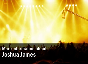 Joshua James Tickets Houston