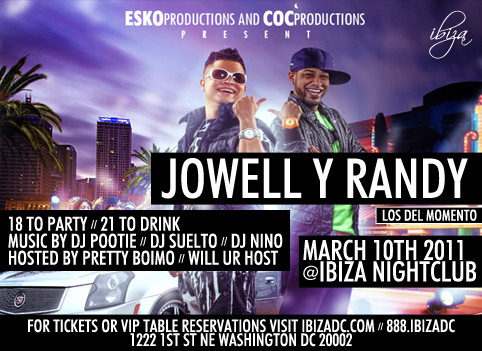 Jowell Y Randy Chicago Tickets