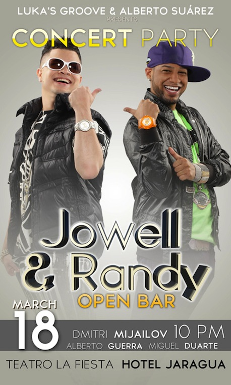 Jowell Y Randy Orlando Tickets