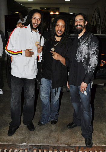 Julian Marley Poolside At Hard Rock Hotel Las Vegas