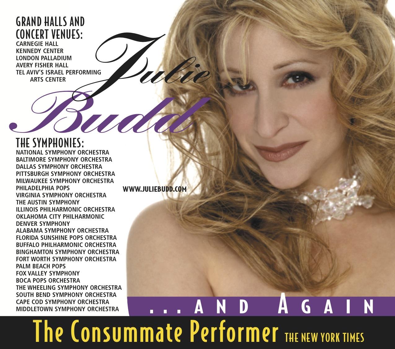 Julie Budd Tickets Benaroya Hall