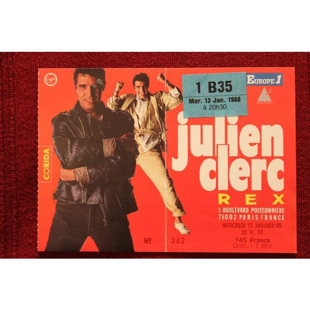 Julien Clerc Tickets Vredenburg