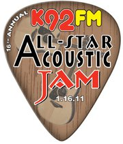 K92fm All Star Acoustic Jam Tickets Show